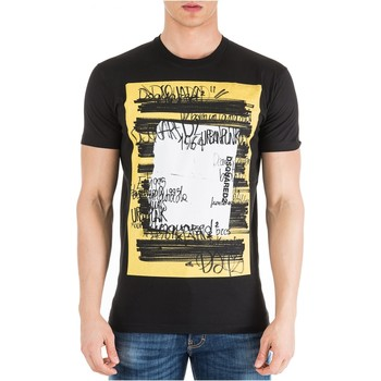 textil Hombre Camisetas manga corta Dsquared T-Shirts S71GD0741 - Hombres negro