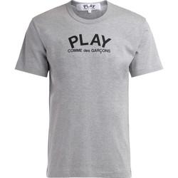 textil Hombre Camisetas manga corta Comme Des Garcons Camiseta  de algodón gris con Gris