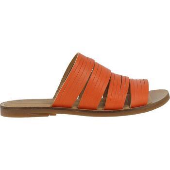 Zapatos Niña Zuecos (Mules) El Naturalista  Naranja