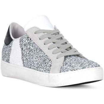 Zapatos Hombre Multideporte At Go GO GLITTER BIANCO Bianco