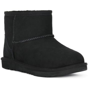 Zapatos Niña Botines UGG MINI CLASSIC II BLK Nero