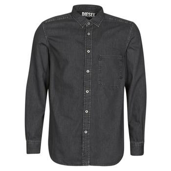 textil Hombre camisas manga larga Diesel D-BER-P Negro