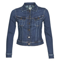 textil Mujer chaquetas denim Lee SLIM RIDER JACKET Dark / Hunt