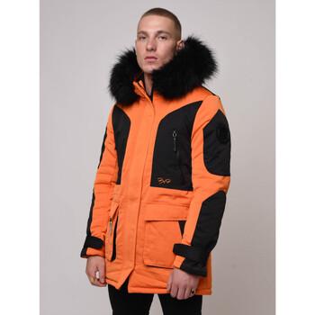 textil Hombre Parkas Project X Paris  Naranja