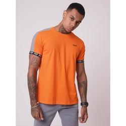 textil Hombre camisetas manga corta Project X Paris  Naranja