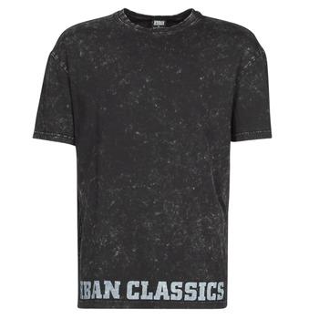 textil Hombre Camisetas manga corta Urban Classics TOBI Negro