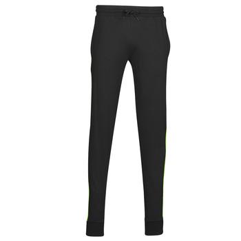 textil Hombre Pantalones de chándal Urban Classics TOUDOU Negro / Amarillo