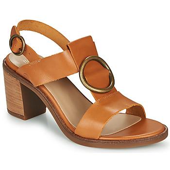 Zapatos Mujer Sandalias Casual Attitude MELINA Camel