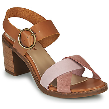 Zapatos Mujer Sandalias Casual Attitude MEL Camel / Rosa