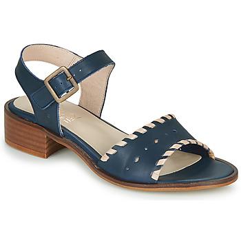 Zapatos Mujer Sandalias Casual Attitude RINEILUE Negro / Plateado