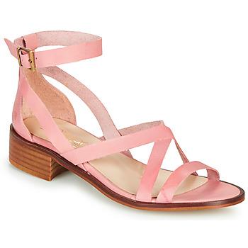 Zapatos Mujer Sandalias Casual Attitude COUTIL Envejecido / Rosa