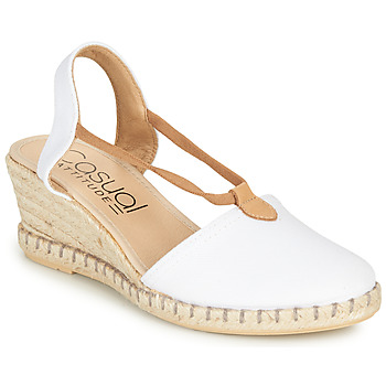 Zapatos Mujer Sandalias Casual Attitude MAYA Blanco