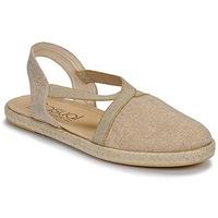 Zapatos Mujer Sandalias Casual Attitude MISSA Beige / Dorado