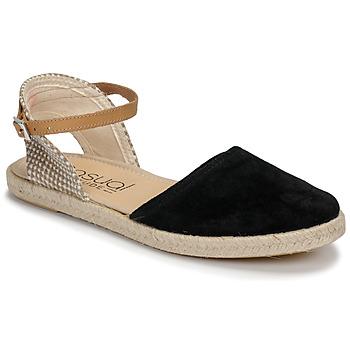 Zapatos Mujer Sandalias Casual Attitude MADELEINE Negro