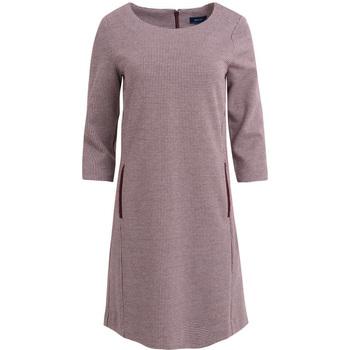 textil Mujer Vestidos Gant Vestido recto de punto con estampado de pata de gallo Otros