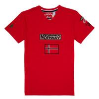 textil Niño camisetas manga corta Geographical Norway JIRI Rojo