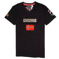 textil Niño camisetas manga corta Geographical Norway JIRI Negro