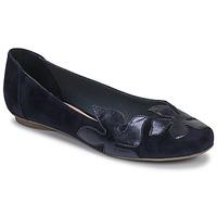 Zapatos Mujer Bailarinas-manoletinas Betty London ERUNE Marino