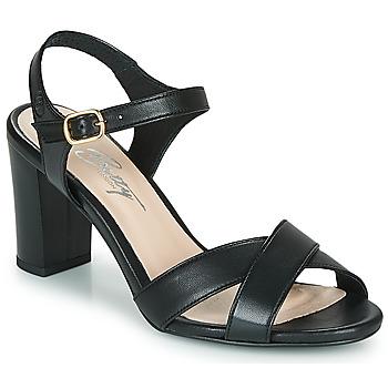 Zapatos Mujer Sandalias Betty London MOUDINE Negro