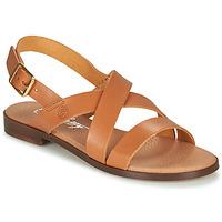 Zapatos Mujer Sandalias Betty London MADI Cognac