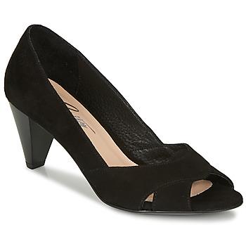Zapatos Mujer Zapatos de tacón Betty London MIRETTE Negro / Aterciopleado