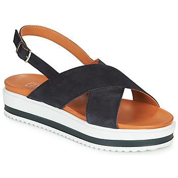 Zapatos Mujer Sandalias Betty London MAFI Marino