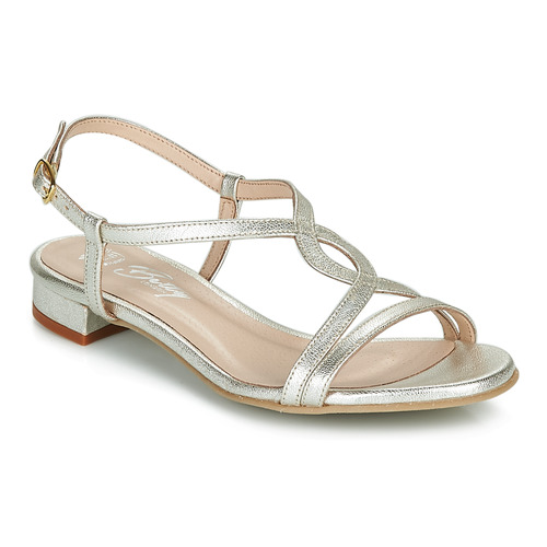 Zapatos Mujer Sandalias Betty London MATISSO Plata