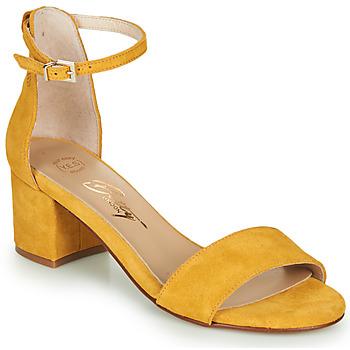 Zapatos Mujer Sandalias Betty London INNAMATA Amarillo