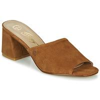 Zapatos Mujer Zuecos (Mules) Betty London MELIDA Cognac