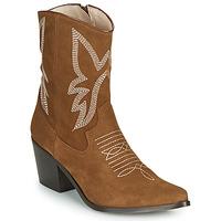 Zapatos Mujer Botines Betty London MOSSINO Camel