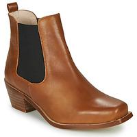 Zapatos Mujer Botines Betty London MERKATO Cognac
