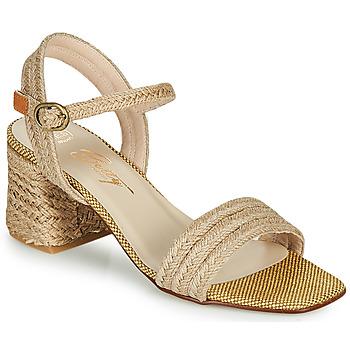 Zapatos Mujer Sandalias Betty London MILLO Beige