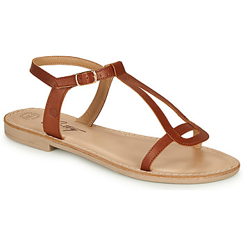 Zapatos Mujer Sandalias Betty London MISSINE Cognac
