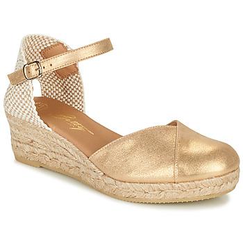 Zapatos Mujer Sandalias Betty London INONO Oro