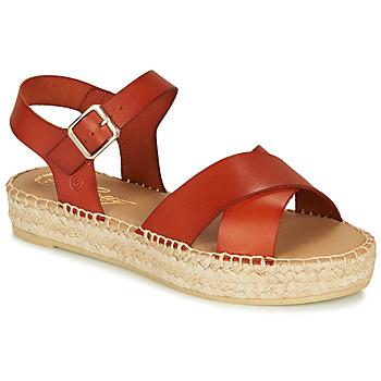 Zapatos Mujer Sandalias Betty London MIZOU Marrón