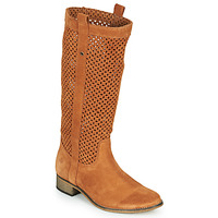 Zapatos Mujer Botas urbanas Betty London DIVOUI Cognac