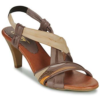 Zapatos Mujer Sandalias Betty London POULOI Camel