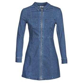textil Mujer vestidos cortos Noisy May NMLISA Azul / Medium