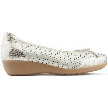 Zapatos Mujer Bailarinas-manoletinas Drucker Calzapedic PLANTILLA EXTRAIBLE DORADO