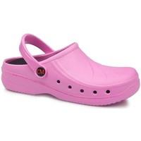 Zapatos Zuecos (Clogs) Calzamedi SANITARIO EXTRA ANATOMICO 2020 ROSA