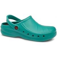 Zapatos Zuecos (Clogs) Calzamedi DE TRABAJO ANATOMICO VERDE