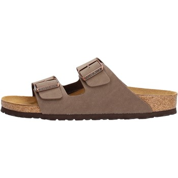 Zapatos Hombre Zuecos (Mules) Birkenstock - Arizona marrone 151183 MARRONE