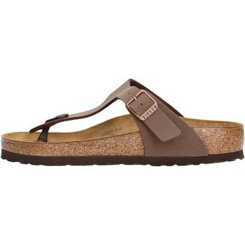 Zapatos Hombre Chanclas Birkenstock - Gizeh marrone 043751 MARRONE