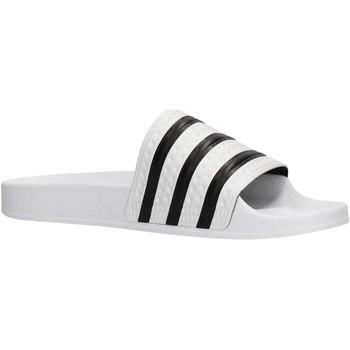 Zapatos Hombre Zapatos para el agua adidas Originals - Adilette bianco 280648 BIANCO