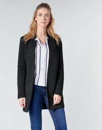 textil Mujer Abrigos Only ONLSOHO Negro