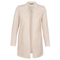 textil Mujer Abrigos Only ONLSOHO Beige