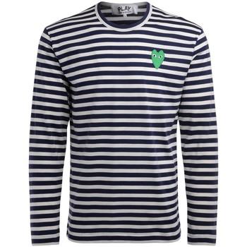 textil Hombre Camisetas manga larga Comme Des Garcons Camiseta  manga larga con líneas Multicolor