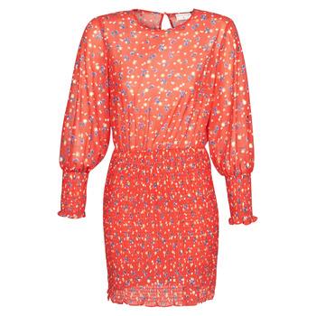 textil Mujer vestidos cortos Moony Mood FANETTE Rojo