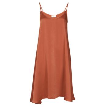 textil Mujer Vestidos cortos Moony Mood FANETTI Marrón