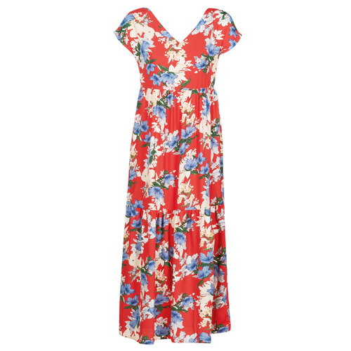 textil Mujer vestidos largos Betty London MALIN Rojo / Blanco / Azul